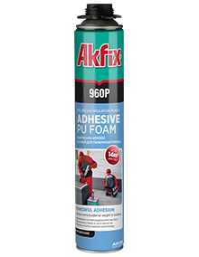 960P Adhesive PU Gun Foam